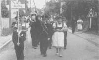 Bezirks-Musikertreffen, 27. Juli 1958 in Lafnitz