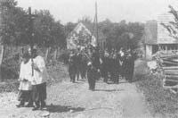 Erstkommunion in Schölbing 1963