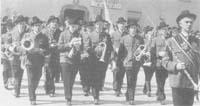 1963: Mit dem Hartberger Kameradschaftsbund in Köflach 1963